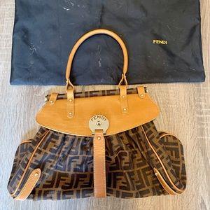 Fendi Zucca Print Magic Bag
